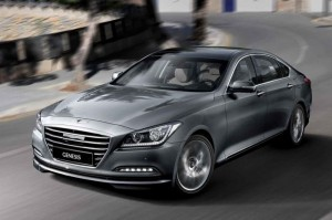Hyundai Genesis Will Slow Down When It Approaches A Speed Camera