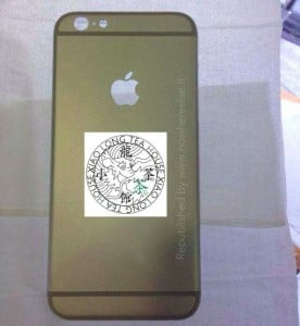 iPhone 6 Rear Casing Leaked Again