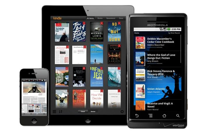 Amazon Kindle Reading Apps Updated