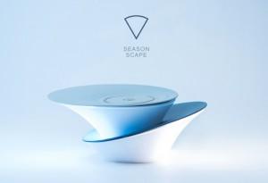 Season Scape Cordless Mood Light Launches On Kickstarter (video)