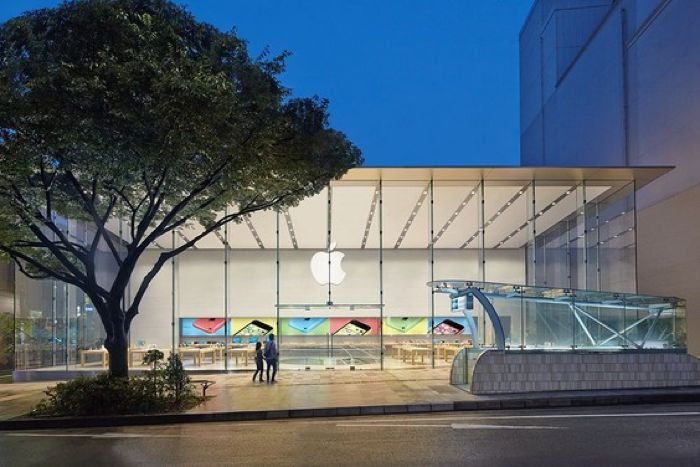 new apple store