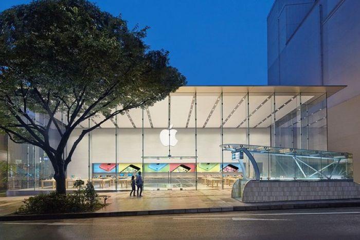 new apple store