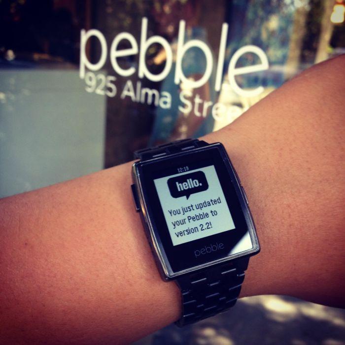 pebble firmware