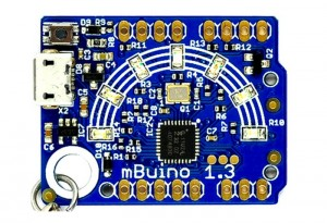 mBuino mbed Programmable Keychain (video)
