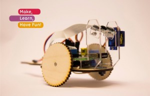 TiddlyBot Raspberry Pi Robot Launches On Kickstarter (video)