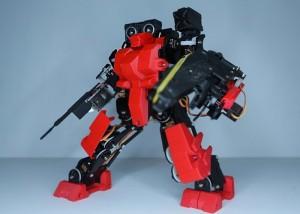 Ai.Frame Open Source Humanoid Robot Kit (video)