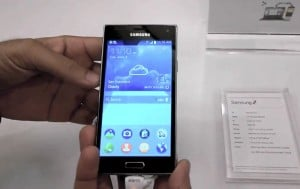 Samsung Z And Tizen UI In Action (Video)