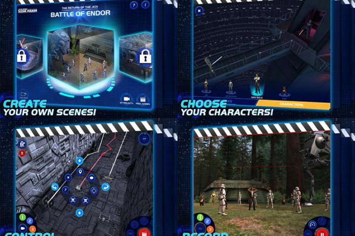 Create Star Wars movies with this Disney iPad app
