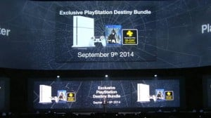 White Sony PS4 Bundle With Destiny coming September 9th