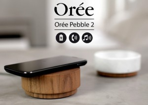 Oree Pebble 2 Wooden Wireless Charger And Speaker (video)