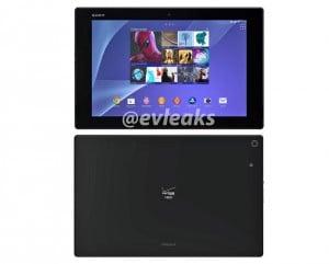 Verizon Xperia Z2 Tablet Press Render Leaked