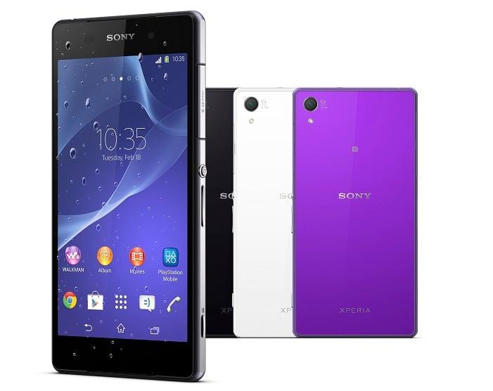 Verizon Sony Xperia Z2