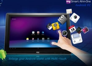 AOC MySmart 24 inch Monitor Is Also A Massive Android Tablet