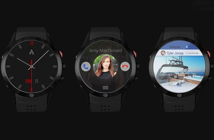 Arrow Smartwatch Offers Rotating 360 Degree HD Camera (video)