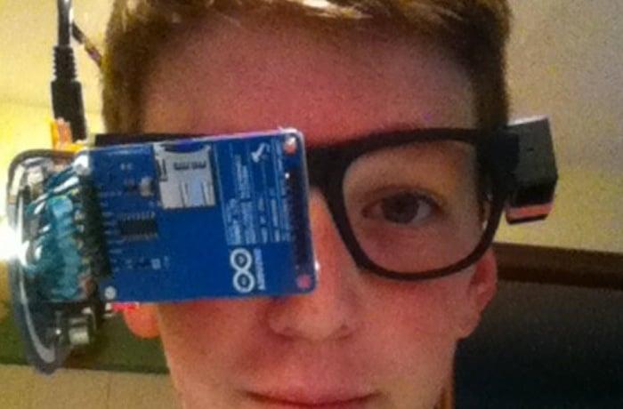 DIY Google Glass
