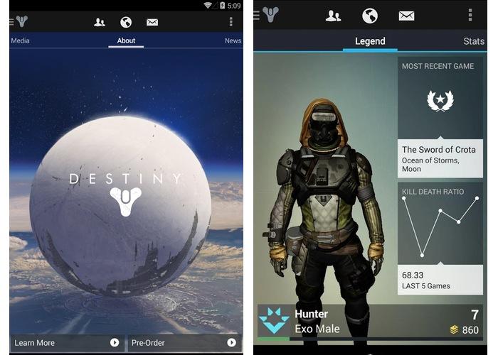 Destiny Companion App