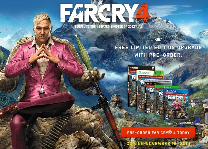 Far Cry 4 Accolades Trailer Released Video