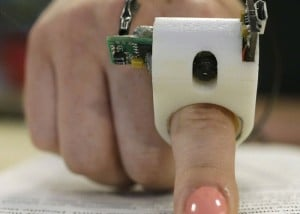 Finger Reader Wearable Text Read Unveiled By Fluid Interfaces (video)