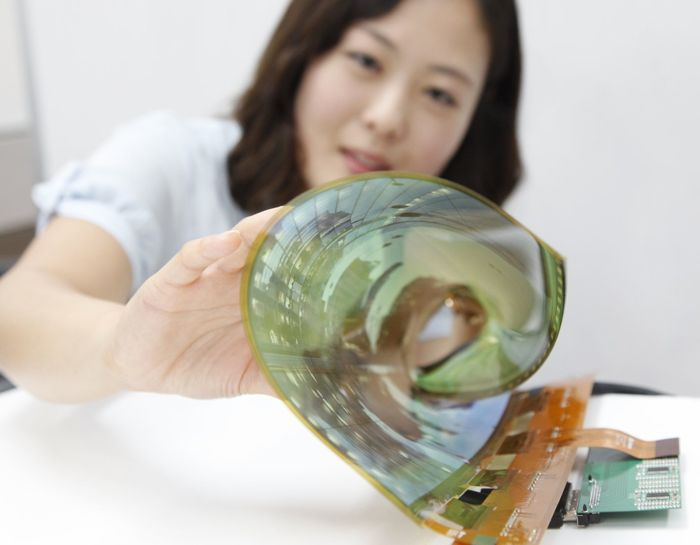 flexible transparent OLED display