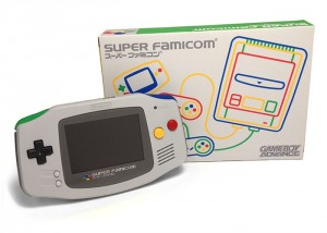 SNES and Super Famicom Themed Gameboy Advance Handhelds Launching Soon