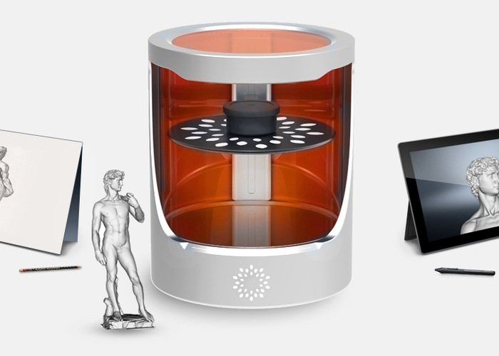 Heliolithographic 3D Printer