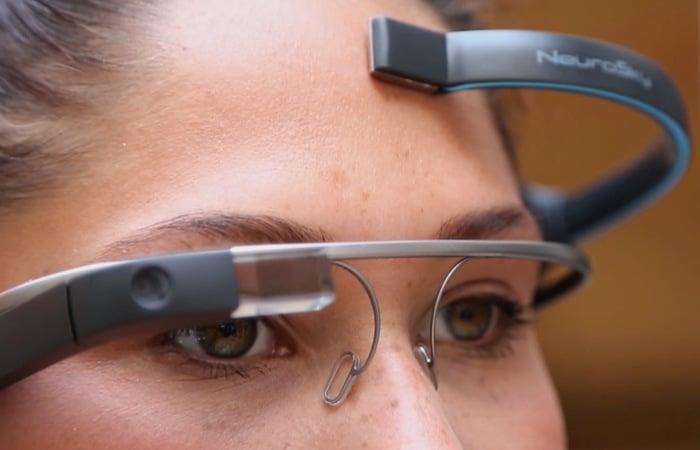 MindRDR Google Glass