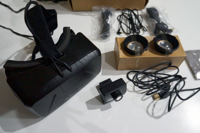 Oculus Rift DK2 Unboxing And First Thoughts