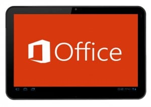 Microsoft Office For Android Tablets Testers Needed