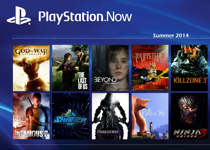 PlayStation Now Beta Launched In The U.S. (Video)