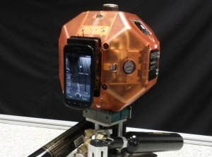 Project Tango NASA Spheres Blasting Into Space (video)