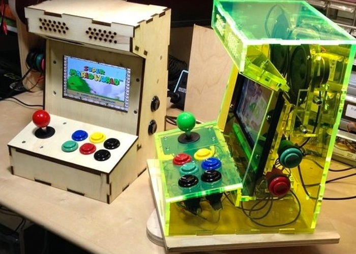 Raspberry Pi Mini Games Arcade Cabinet Kit Available From $50 (video)