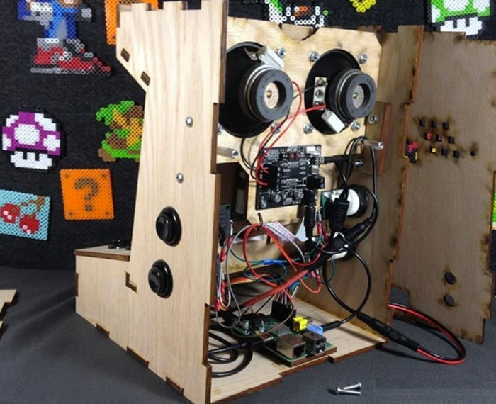 Raspberry Pi Mini Games Arcade Cabinet Kit Available From ...