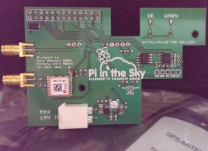 Raspberry Pi Telemetry Board Pi In The Sky Now Available To Pre-Order