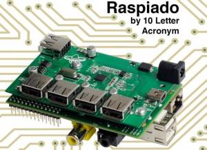 Raspiado Raspberry Pi USB Hub Launches On Kickstarter (video)