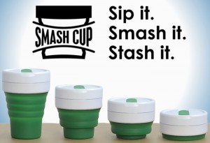 Smash Cup Reusable Coffee Cup Hits Kickstarter (video)