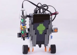Self Balancing Robot Created Using Arduino Hippo-ADK, Android And Lego NXT (video)
