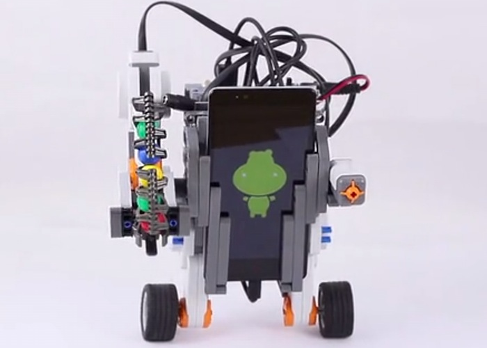 Self balancing robot created using arduino hippo adk