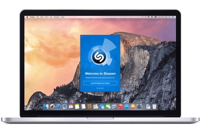 Shazam for Mac