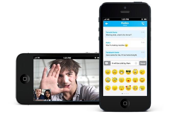 Skype iPhone