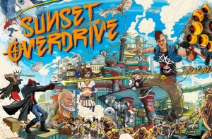 Xbox One Sunset Overdrive Game Intro And Gameplay Unveiled (video)
