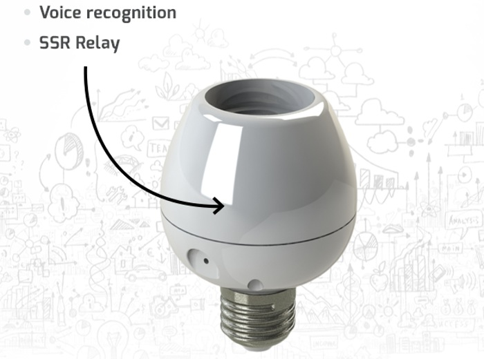 Voice Activated Light Bulb