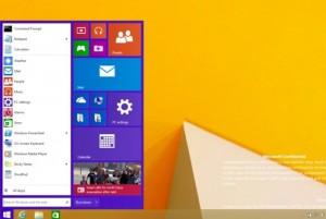 Microsoft Windows 8.1 Start Menu Screenshot Leaked?