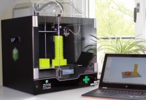 New ZYYX 3D Printer Includes Unique Air Filtration System (video)