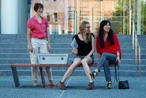 Benches in Boston Parks will Recharge your Gadgets via Solar Power