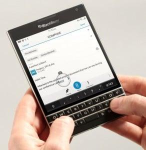 BlackBerry Touts BlackBerry Passport Design