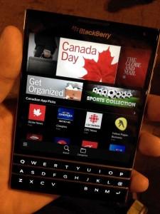 Even More BlackBerry Passport Photos Revealed