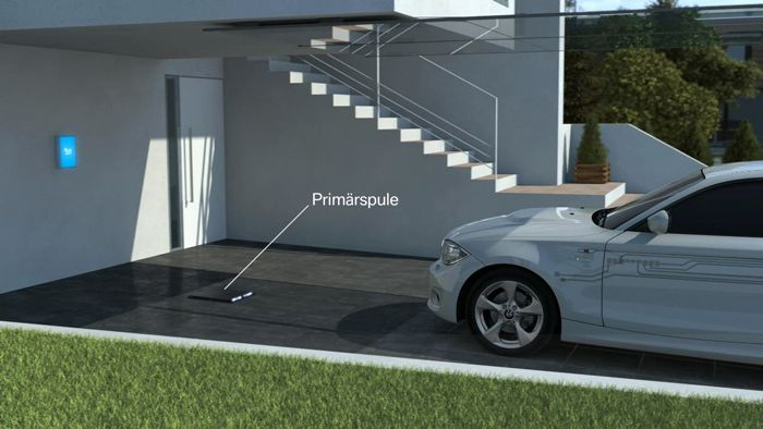 BMW Developing Wireless Inductive Charging For EVs
