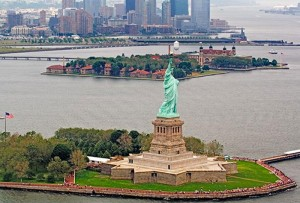 Google Maps Ellis Island and Liberty Island for Virtual Tours