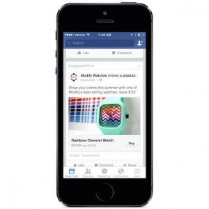 Facebook Testing Out A Buy Button