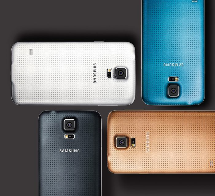 Samsung Galaxy F Poses For The Camera